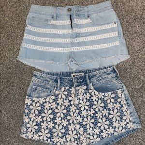 PAIR OF PACSUN SHORTS